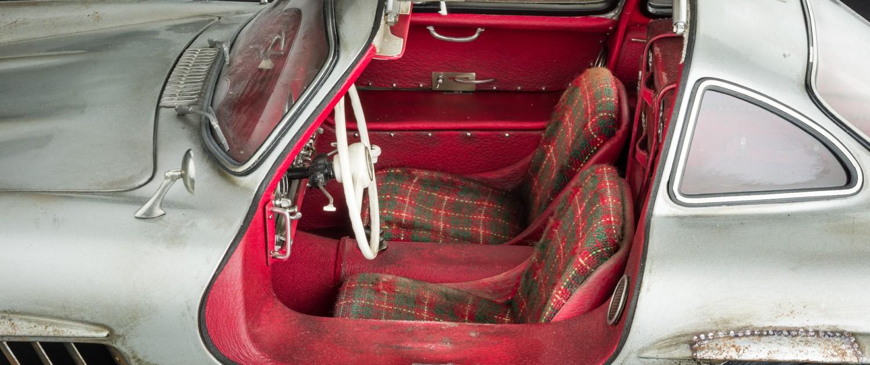Merceds-Benz 300SL Innenraum