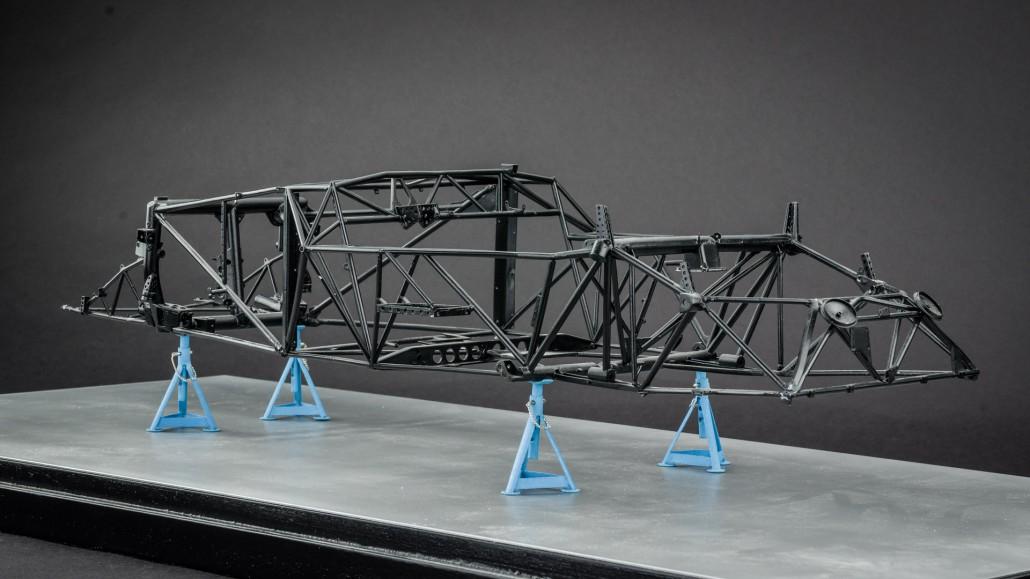 Mercedes-Benz 300SLR Rahmen – tecni-art